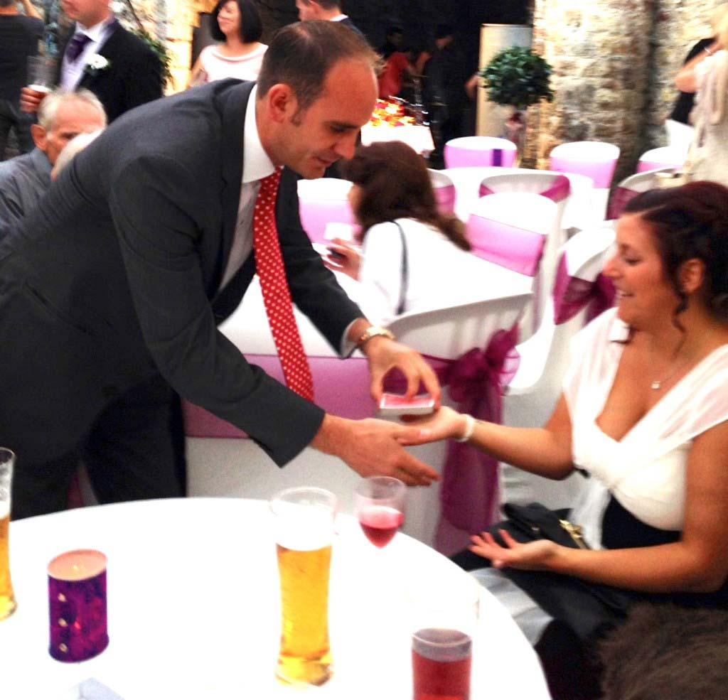 Magician Wedding Weston Super Mare